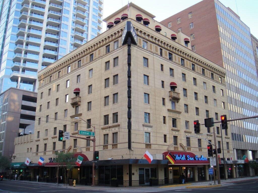 Los fantasmas del hotel San Carlos (Phoenix)